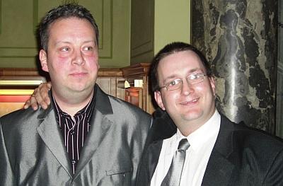 Patrick Chandler (links) und Lars Karamatic