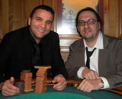 Samir Hajjout (li.) und Jürgen Stumpmeier