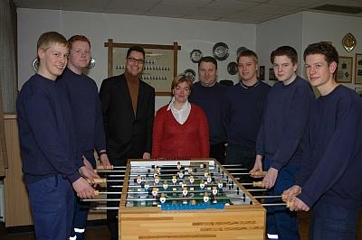 Sven Heuer, Janik Peselmann, Karsten Gauselmann, <br>Michaela Hagemeier, Maik Hagemeier (Jugendwart), Marco Heuer<br>(stellvertretender Jugendwart), Nils Knefelkamp, Philip Jirmann
