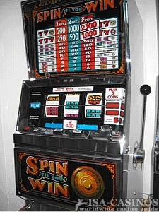 IGT's Spin-til you-Win, hergestellt circa 1993
