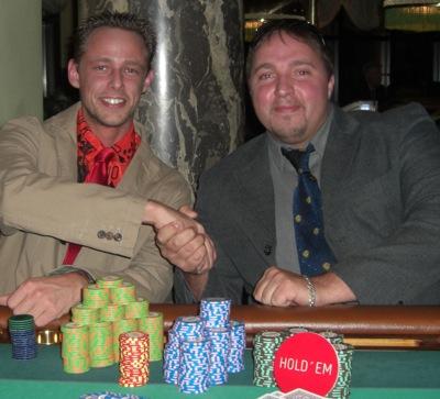 Denis Henkel (1.) und Sebastian Heisig (2.)
