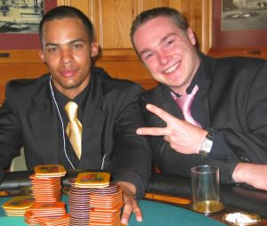 Gewinnen ist cool!<br>Herr Franklin (1.) & Herr West (2.)