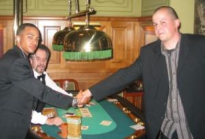 Das Triple geschafft!<br>Herr Franklin (3facher Sieger) & Herr Ehrenberger (2.)