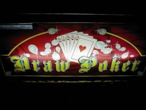 Poker-Glücksspielautomat in der Spielbank Potsdam