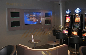 Blick in den Gaming Club