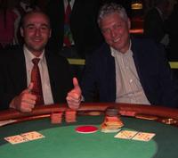 Patrick Engelbert (li) und Sieger<br />Peter Hamm