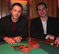 Mircea Chivu (li) und Daniel Renyè