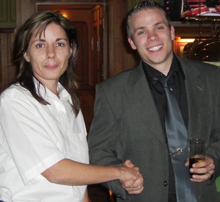 Maria Szabo (links) und Thomas Lichterfeld