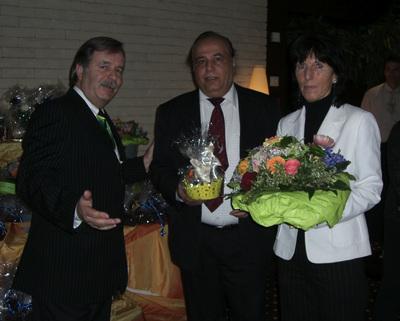 Der glückliche Sieger Herr Al. Yafawi