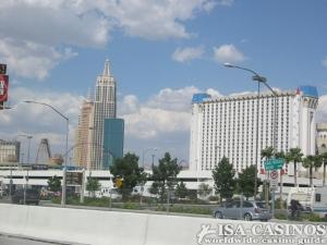 Blick auf Casinos in Las Vegas