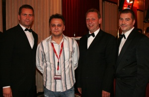 Die Sieger und das Pokerteam