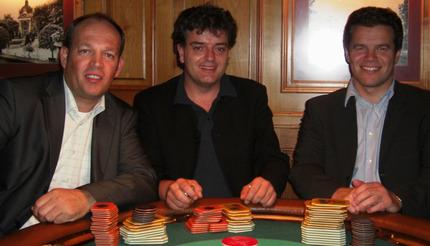 Qerkin Sadicu, Frank Bischoff und Michael Murra (v.l.n.r.)