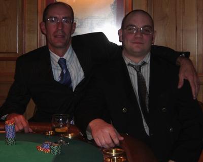 Matthew-Jason Sheers (1.) und Steven Burney (2.)