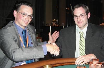 Michael Grabarczyk (links) und Michael Hess