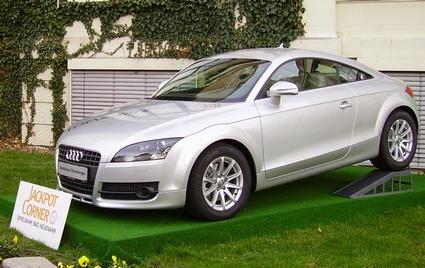 Aktueller Auto-Jackpotgewinn ist ein Audi TT Coupé