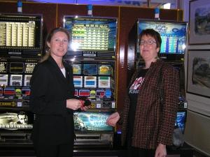 Zwei Preisträger - Spielbank Hamburg