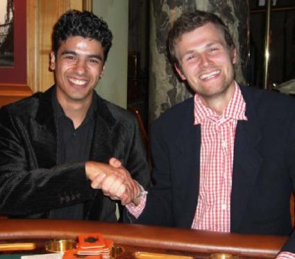 Die strahlenden Sieger Ahmed Khalifeh (li.) und Christoph Höfler