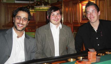 Yunus Cumartpay, Bernd Kruschewski und Brian Corvers (v.l.n.r.)
