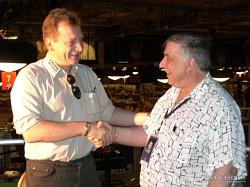 Reinhold Schmitt im Gespräch mit dem<br>Poker-Experten Michael Keiner