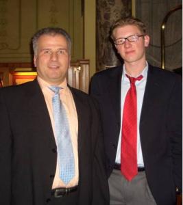 Die Gewinner Michael Stehle & Niklas Bick