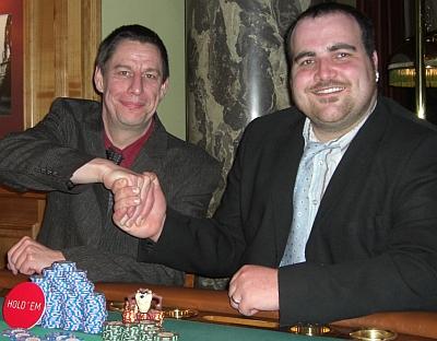 Achim Lübkemeier (1) und Manuel Nold (2)