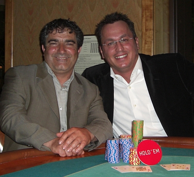 Antonio Madeo (1) und Ioannis Triantafillidis (2)