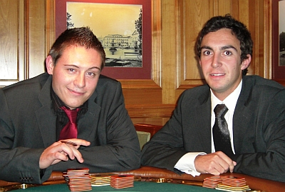 Sebastian Pfeffer (links) und Markus Polleichtner