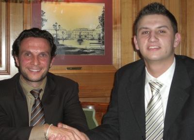 Tino Gentile (links) und Markus Hütter