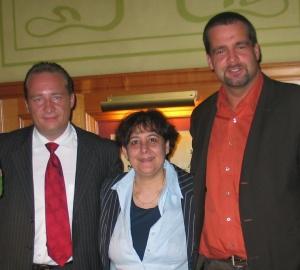 Die ersten drei Gewinner<br>Herr Schlieger (5.990,-€), Frau Homam (4.100,-€) <br>und Herr Stein (10.080,-€)