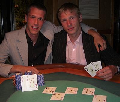 Martin Zimmermann (1.) und Bela Szabo (2.)