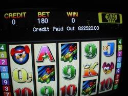 Glücksspielautomat in <br>der Spielbank Potsdam