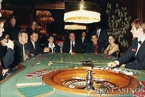 Roulettespiel in der <br>Spielbank Baden-Baden
