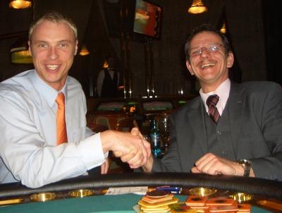 Christian Solcher (2.) und Walter Mausbacher (1.)
