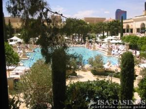 Pool im Bellagio Las Vegas