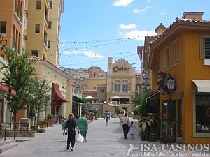 Spaziergang durch das Casino New York Las Vegas