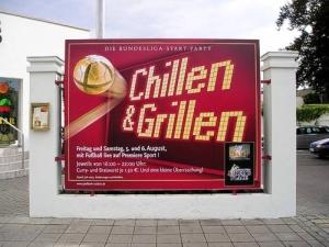Chillen + Grillen