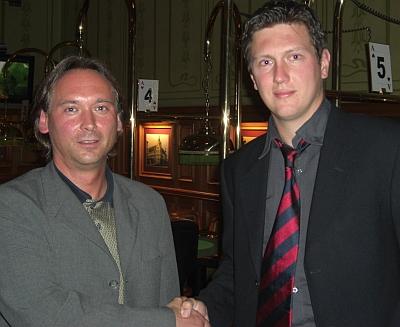 Christian Buchner (li) und Markus Lühring