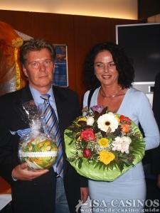 Sieger des Oster Baccara Turniers<br> in der Spielbank Stuttgart