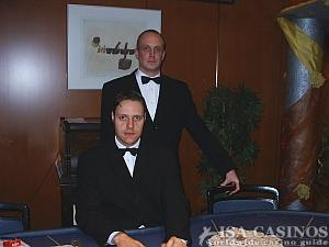 Baccara Croupiers aus der Spielbank Stuttgart