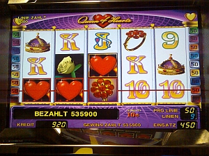 Spielbank Frankfurt (Oder)<br>Gewinnbild Queen of Hearts