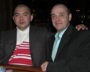 Than Nguyen (2) und Michael Dürk (1)